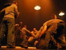 'De ratones y hombres', la famosa obra de Steinbeck, en el teatro Español