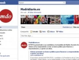 Madrid tiene ya más usuarios en Facebook que habitantes
