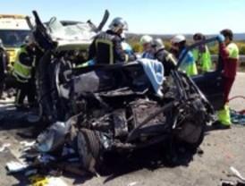 Dos muertos en accidente de tráfico en La Cabrera