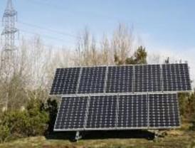 Placas solares en el Parque Forestal de Somosaguas de Pozuelo de Alarcón