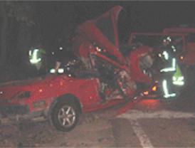 Tres muertos en dos accidentes en Los Molinos y Aranjuez