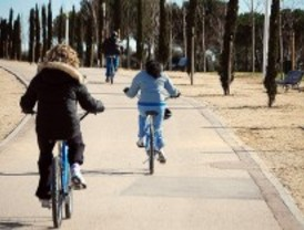 Fiesta de la bicicleta y la rueda en Getafe