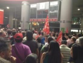 Tres detenidos durante la huelga ferroviaria