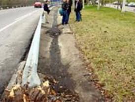 La Comunidad protegerá los guardarrailes de todas las carreteras