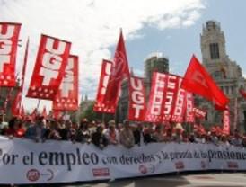 La manifestación de los 4.612.700 parados