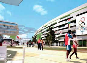 Representación de sedes de Madrid 2020