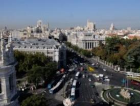 Dos euros por mirar Madrid desde Cibeles