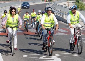 Las Rozas une por bici ocho centros educativos