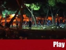 Once detenidos en los disturbios de las fiestas del Barrio del Pilar