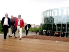 La cubierta verde del CREAA de Alcorcón