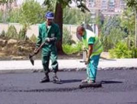 Arranca la operación 'Pavimenta Madrid'