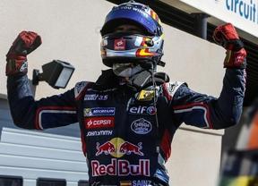 El madrileño Carlos Sainz Jr. listo para la F1