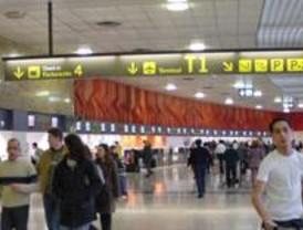 Madrid-Barajas es el aeropuerto más utilizado con 4,35 millones de pasajeros