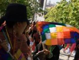 Fiesta en honor a la Virgen de Urkupiña, patrona de la integración