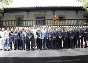 Getafe condecora a los agentes que detuvieron a 'Rafita'