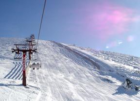 La temporada de esquí se adelanta en Madrid