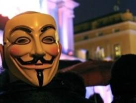 La policía da por desarticulados los 'Anonymous'