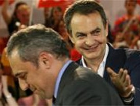 Simancas se reúne con Zapatero para hablar de la crisis del PSM