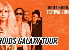 'Te Asteroids Galaxy Tour', en el cartel del festival Cultura Inquieta de Getafe