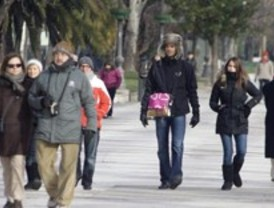 Madrid no se libra del intenso frío