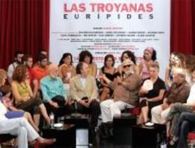 Mario Gas presenta 'Las troyanas' en el Matadero de Madrid