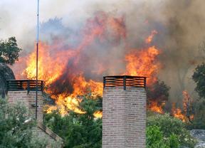 Riesgo muy alto de incendios en el oeste y centro de la región