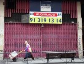 Colocan un Línea Madrid en un antiguo sex-shop