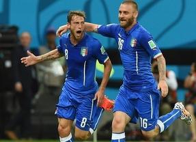 La Italia del eterno Pirlo se impone a una gran Inglaterra en el mejor partido del Mundial