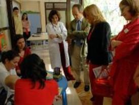 El Hospital Montepríncipe de Boadilla tiene un aula para los niños ingresados