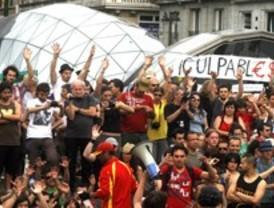 Solidaridad en Sol con los detenidos del 12-M