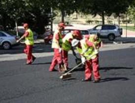 La Comunidad repara varias calles antes de cederlas al Ayuntamiento de San Martín de la Vega