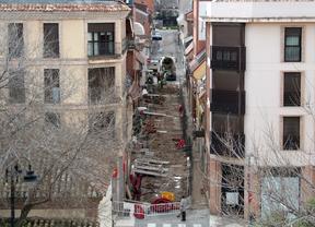 Obras en la calle Ebro