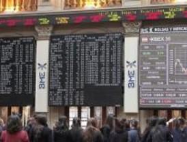 La Bolsa de Madrid confía en que se apruebe el plan Bush y sube un 0,38%