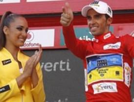Alberto Contador, virtual vencedor de la Vuelta a España