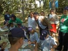 Más de 300 niños de la capital pasan sus vacaciones en un campamento de Cercedilla