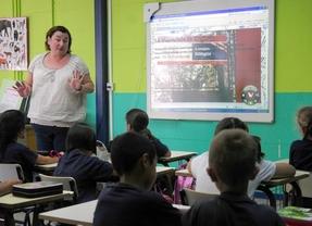 Estudiantes de Primaria en clase