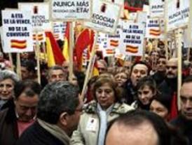 El PP aplaude el uso del himno nacional en la manifestación del sábado