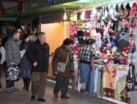 Getafe tiene ya su tradicional mercado de Navidad
