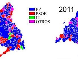 El PP conquista los grandes municipios y se hace con cuatro feudos socialistas