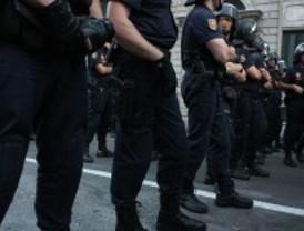 Los antidisturbios también se indignan