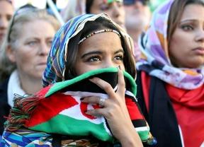 Cientos de personas claman por la autodeterminación del pueblo saharaui