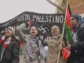 Más de mil personas protestan contra el bombardeo de Gaza