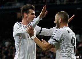 El Real Madrid se pasea ante el Valladolid