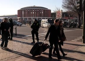 La policía desaloja un tren en Atocha tras amenazar un hombre con suicidarse con explosivos en un tren
