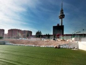 El polideportivo Torrespaña abrirá en 2012