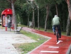 Las Rozas finaliza el primer tramo de carril bici que recorrerá el barrio de Las Matas