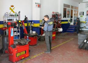 La Guardia Civil cerró 238 talleres ilegales en 2014