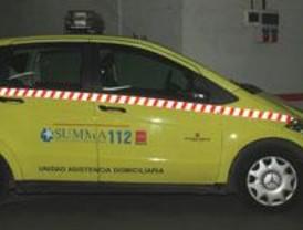 Fallece una motorista de 45 años en una colisión frontal en la antigua N-VI