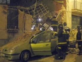 Sin víctimas en el derrumbe de una vivienda en Tetuán