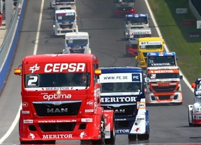 El madrileño Antonio Albacete entre los favoritos del europeo de camiones